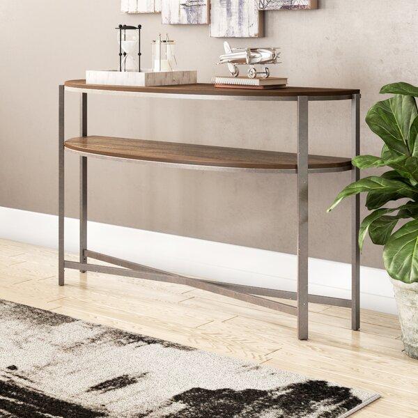 Rowan Demi-Lune Console Table by Trent Austin Design