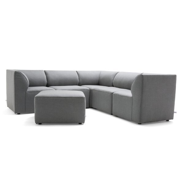 Big Joe Patio Sectional with Cushions by Comfort Research