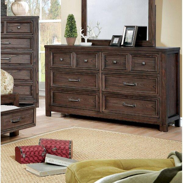 Cuvier 6 Drawer Double Dresser by Loon Peak Loon Peak®