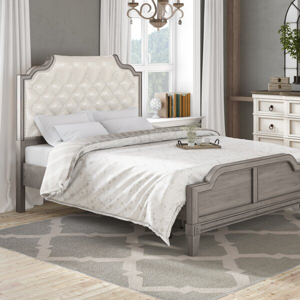 Bernadette Upholstered Standard Bed by Lark Manor