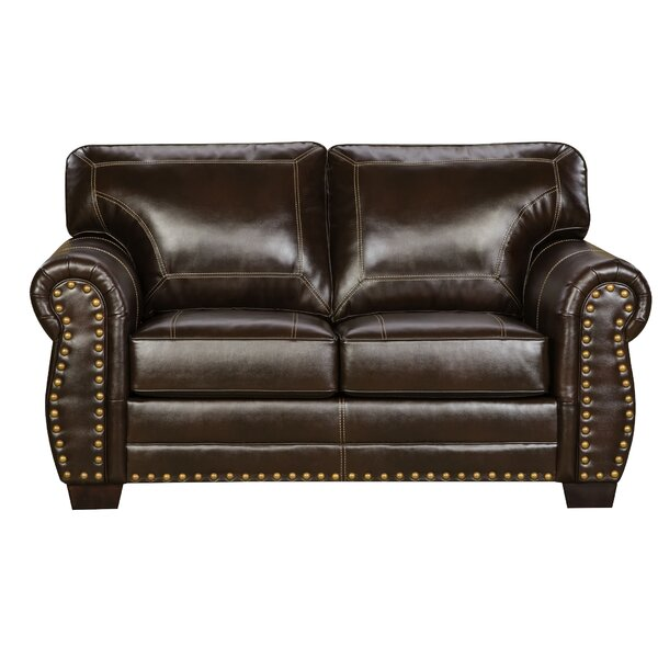 Simmons Upholstery Trafford Sleeper Loveseat by Three Posts