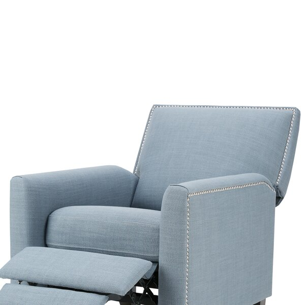Brightling Manual Push Back Recliner by Alcott Hill