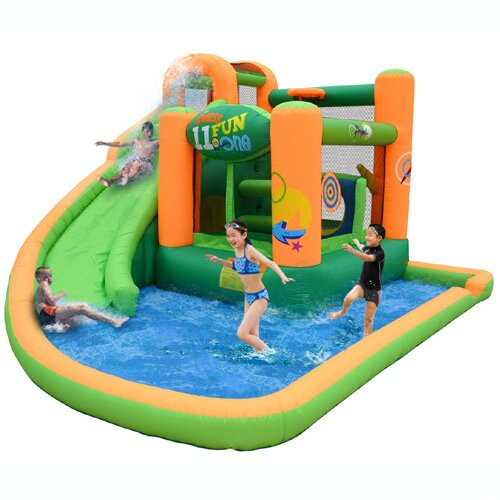 Endless Fun 11 In 1 Inflatable Water Bounce House By Kidwise.