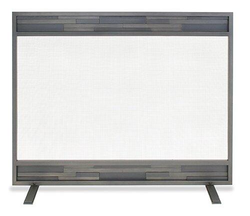 Lanier Single Panel Iron Fireplace Screen By Pilgrim Hearth
