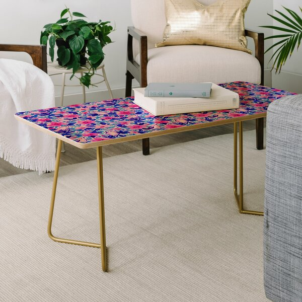 Jacqueline Maldonado Birds And Flowers Coffee Table By East Urban Home
