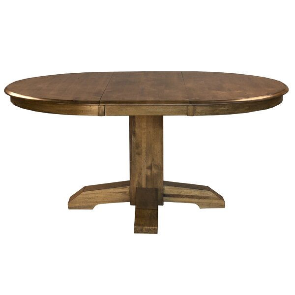 Ian Solid Wood Dining Table by One Allium Way
