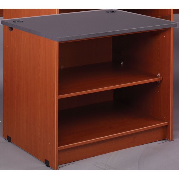Review Library Geometric Bookcase