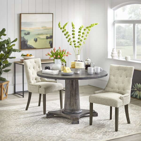 Theodosia 3 Piece Dining Set by One Allium Way