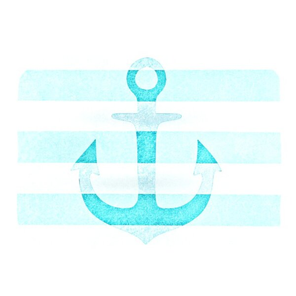 Stone Vintage Anchor Placemat by KESS InHouse