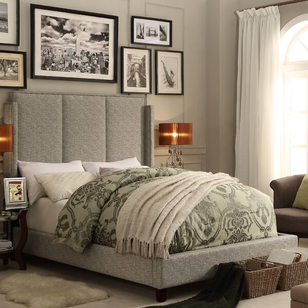 Fresco Queen Upholstered Standard Bed by Mulhouse Furniture