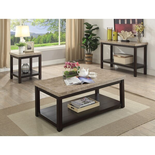 Cricklade 3 Piece Coffee Table Set by Canora Grey