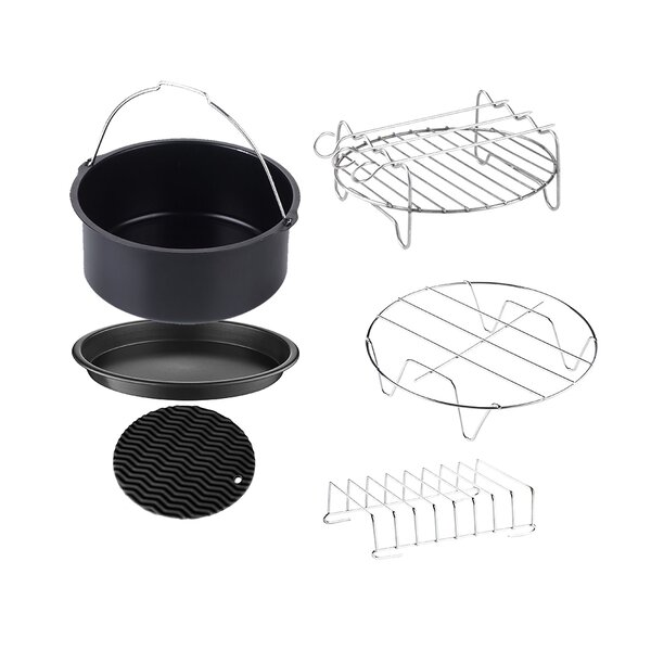 Air Fryer 6 Piece Non-Stick Bakeware Set by GoWISE USA