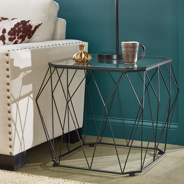 Almeida End Table by Wrought Studio