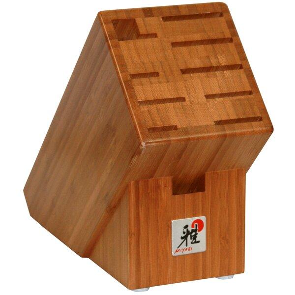 Miyabi 10-Slot Bamboo Cutlery Storage by Miyabi