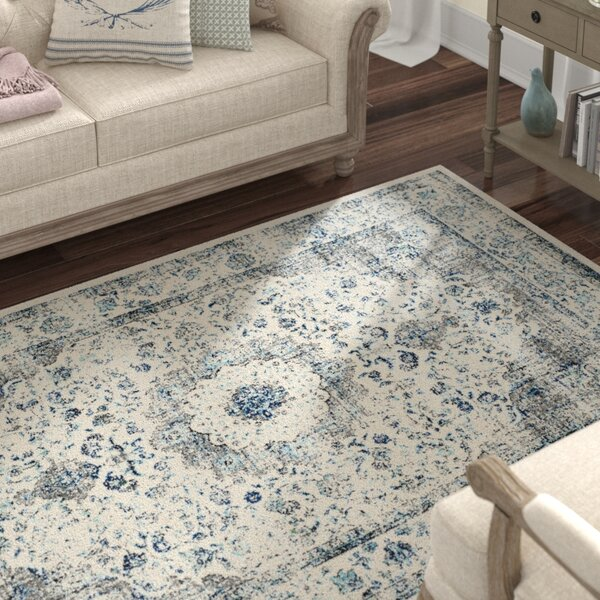 Aleyna Gray/Ivory Area Rug by Lark Manor