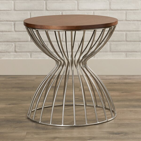 Sunpan Modern Round End Tables