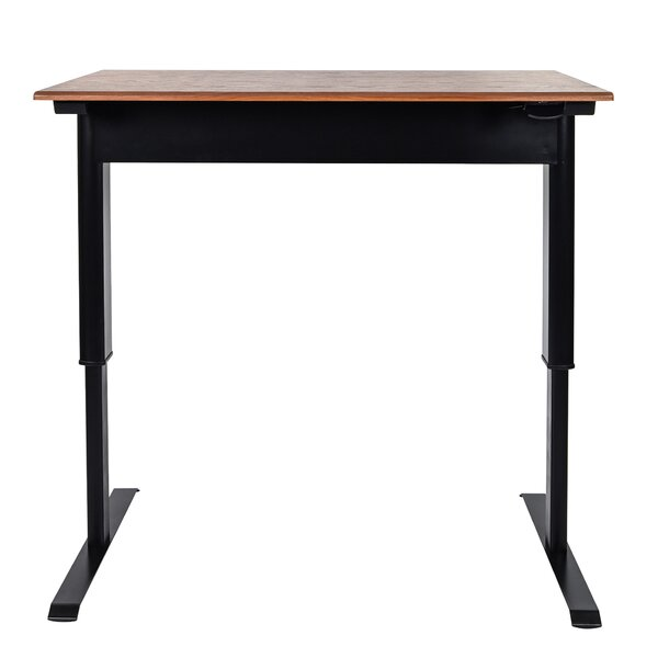 Pneumatic Adjustable Height Standing Desk by LuxorPneumatic Adjustable Height Standing Desk by Luxor
