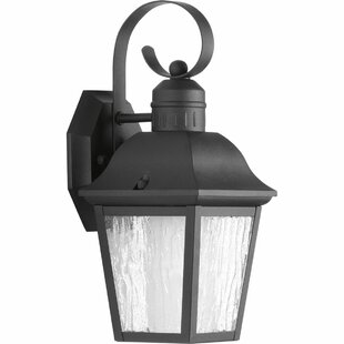 Reviews Thornton 1-Light Wall Lantern By Alcott Hill