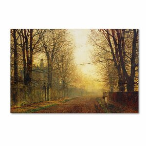 Whitby by John Atkinson Grimshaw Painting Print on Wrapped Canvas by Trademark Fine Art
