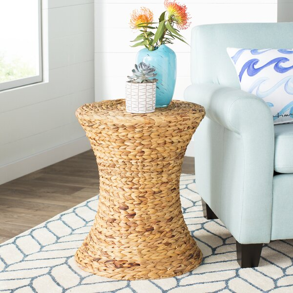 Review Ayleen Water Hyacinth End Table
