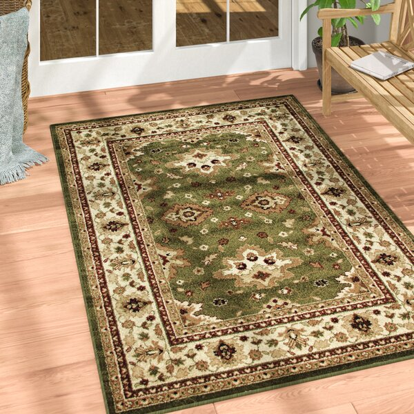 Montrose Green Indoor/Outdoor Area Rug by Threadbind