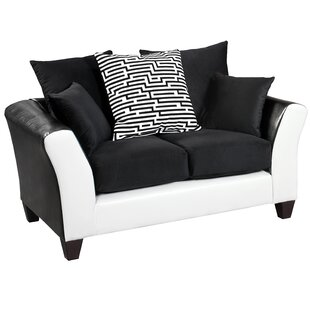 Dilorenzo Modern Implosion Loveseat