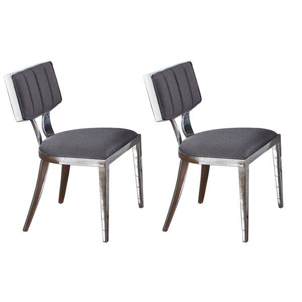 Mavis Midcentury Upholstered Side Chair (Set Of 2) By Orren Ellis