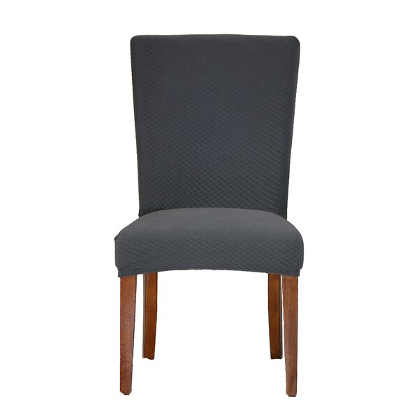 Vivian Stretch Polyester Dining Chair Slipcover by Bee & M