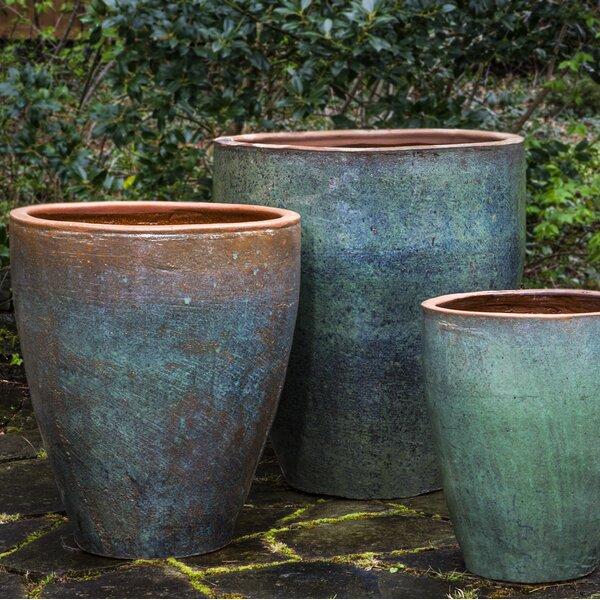 Altamont 3-Piece Terra Cotta Pot Planter Set by Bloomsbury Market