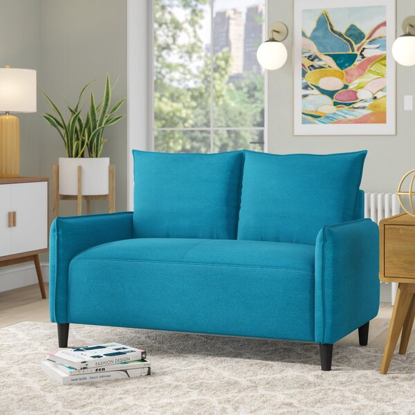Best Quality Online Almondsbury Morden Loveseat by Wrought Studio by Wrought Studio