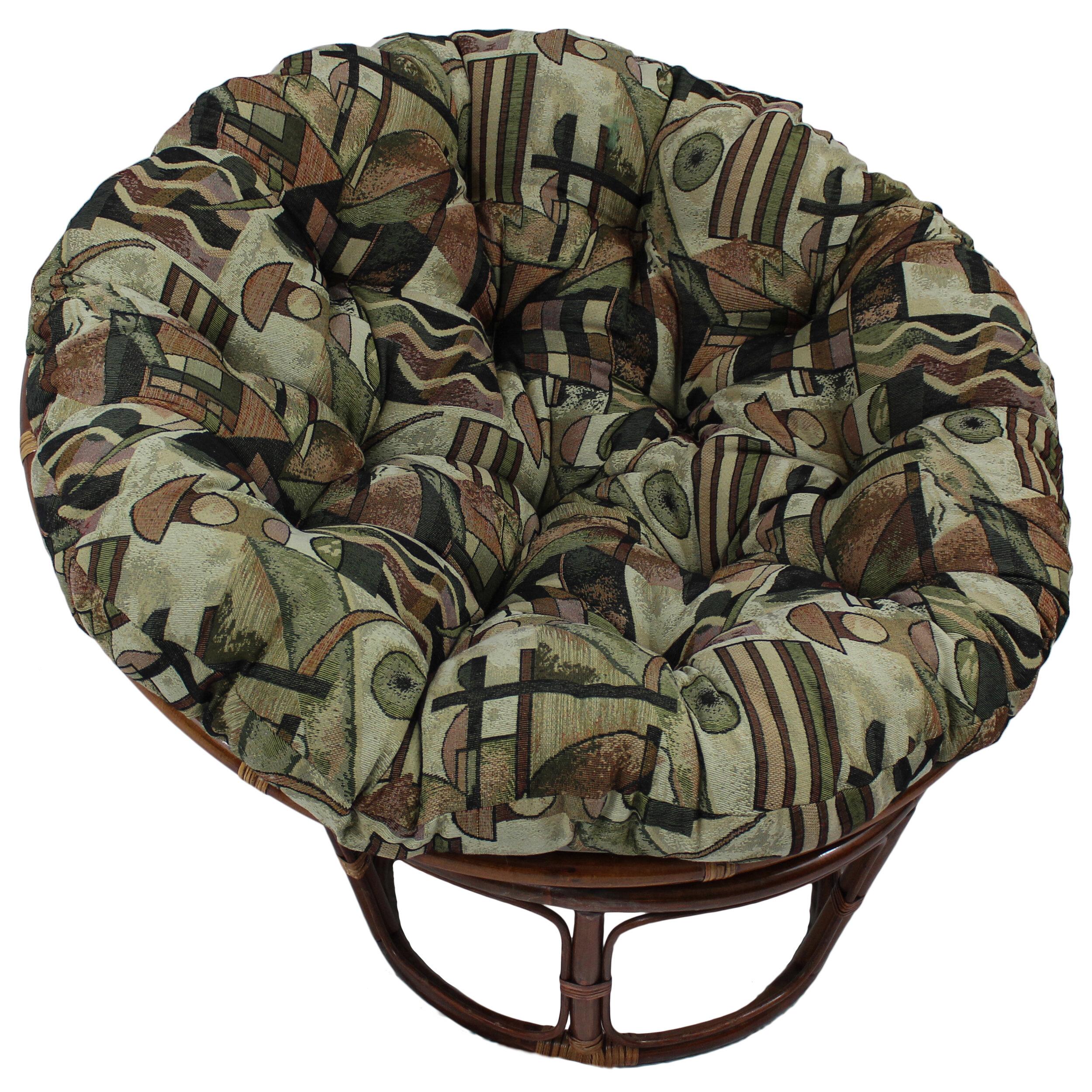 Merveilleux Blazing Needles Papasan Chair Cushion U0026 Reviews   Wayfair