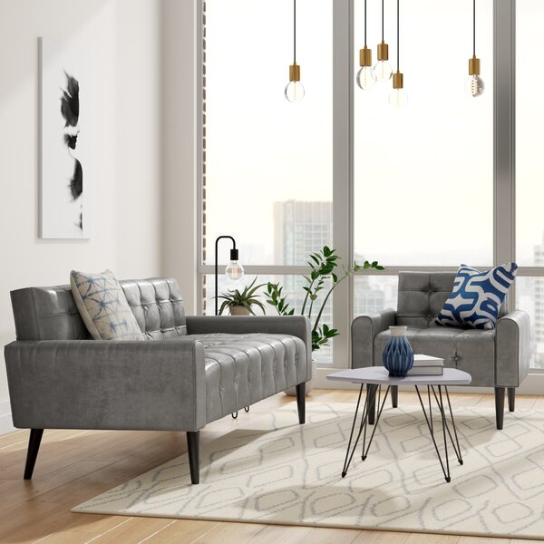 Perry 2 Piece Living Room Set by Zipcode Design