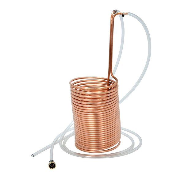 Wort Chiller with Vinyl Tubing by Artisan