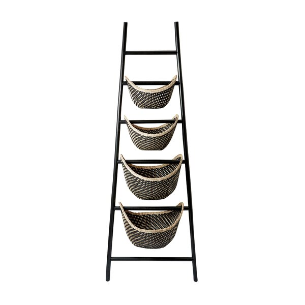 Plaid 6 Decorative Ladder by Mistana