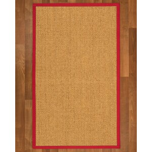 Healey Hand Woven Brown Area Rug