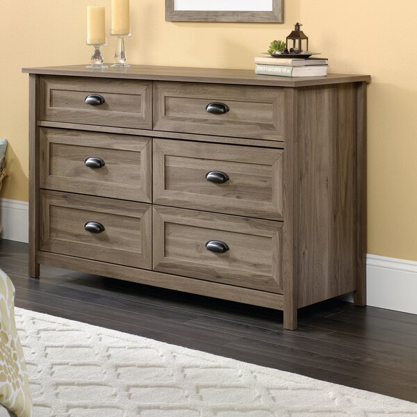 Rossford 6 Drawer Dresser by Three Posts