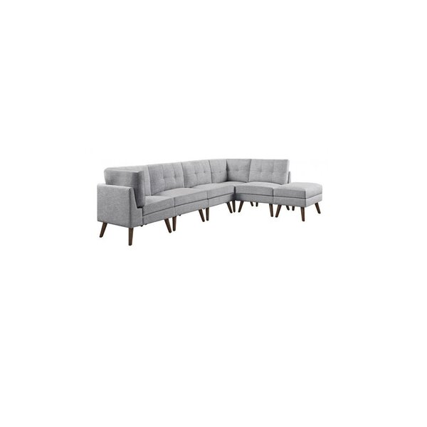 Rylan Reversible Modular Sectional With Ottoman by Langley Street