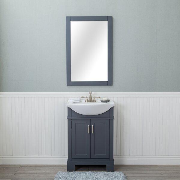 Amansara 24 Single Bathroom Vanity Set with Mirror by Winston PorterAmansara 24 Single Bathroom Vanity Set with Mirror by Winston Porter