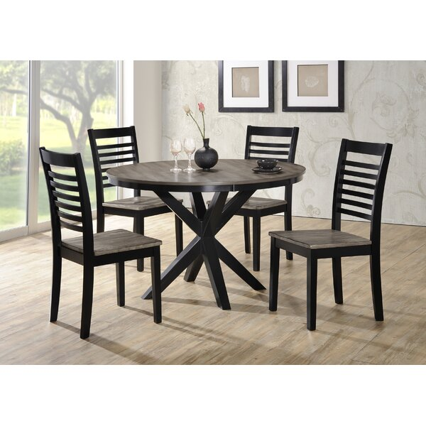 Clipper City 5 Piece Dining Set by Red Barrel Studio