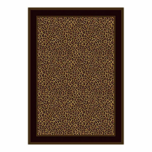 Victorville Leopard Print Zimbala Area Rug by Bloo