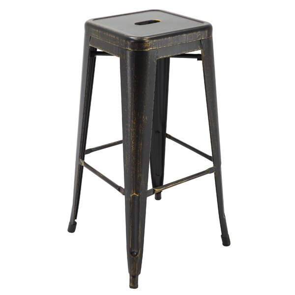 Hoehne 30.3 Bar Stool (Set of 4) by Williston Forge
