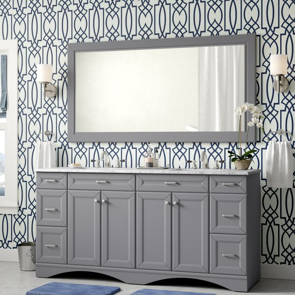Jonina 72 Bathroom Vanity Set with Mirror by Willa Arlo Interiors