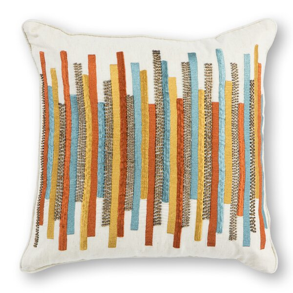 Valentina Cotton Throw Pillow by Corrigan Studio