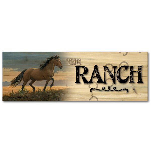 The Ranch Buckskin Stallion by Persis Clayton Weirs Graphic Art Plaque by WGI-GALLERY