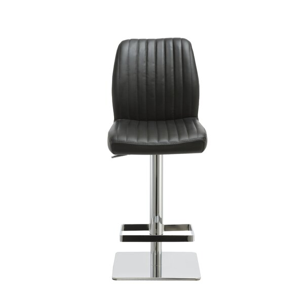 Kleist Adjustable Height Bar Stool by Orren Ellis