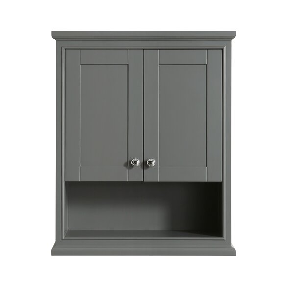 Deborah 25 W x 30 H Wall Mounted Cabinet by Wyndham Collection