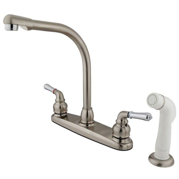 Magellan Centerset Double Handle Kitchen Faucet by Kingston Brass