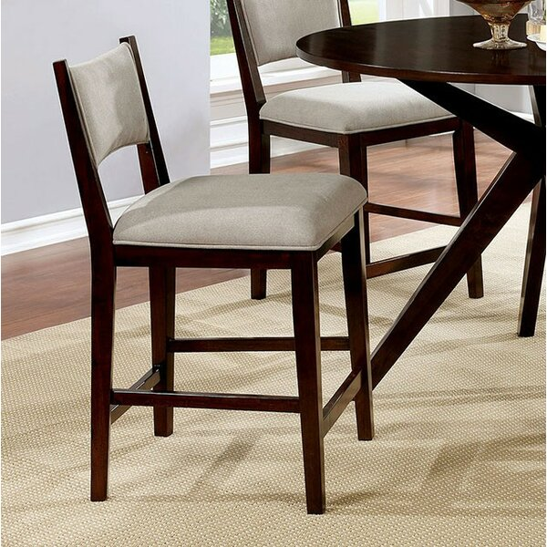 Kauffman Counter Height Upholstered Dining Chair (Set of 2) by Brayden Studio