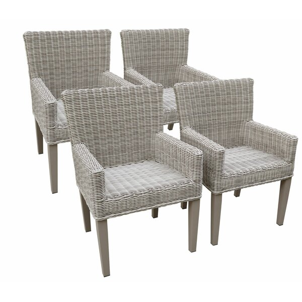 Minni Patio Dining Chair (Set of 4) by Breakwater Bay