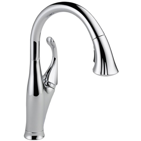 Addison Pull Down Single Handle Kitchen Faucet with Diamond Seal Technology and MagnaTite® Docking by Delta